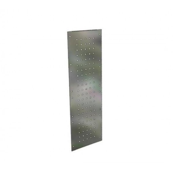 Perforated Endframe Blanking Panel Pair; 1000mm x 430mm (2/3rds)