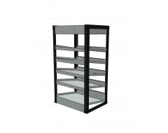 Van Racking 6 Shelf Case Unit; 1000mm x 565mm x 430mm