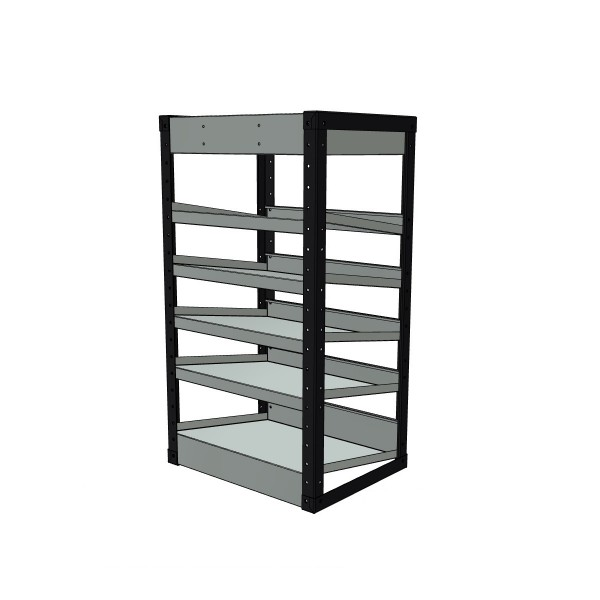 Van Racking 6 Shelf Case Unit; 1000mm x 565mm x 430mm
