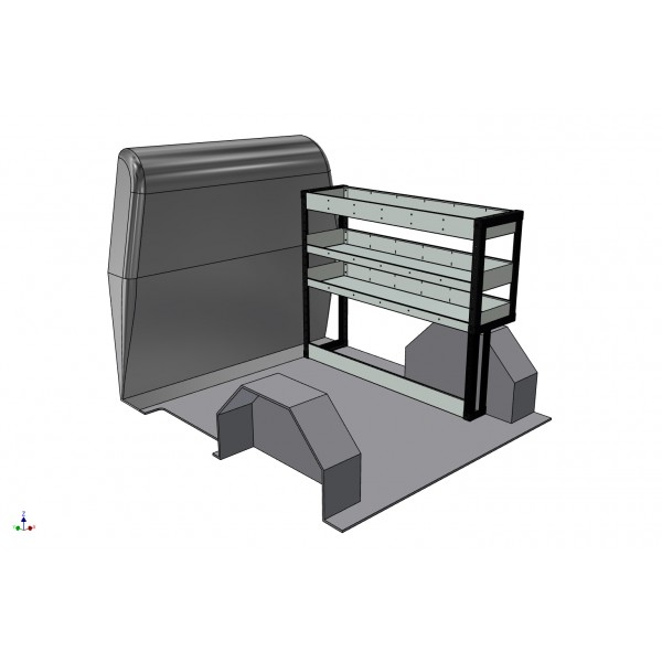 Fiat Fiorino 2007 onwards Van Racking Kit