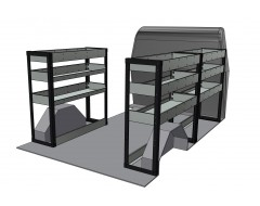 Mercedes Sprinter Van Shelving Kit SWB