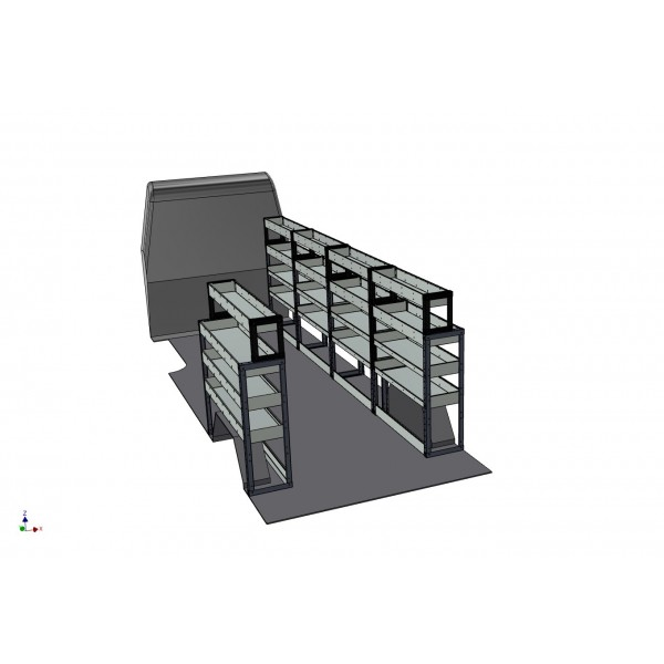 Iveco Daily Full Van Racking Kit LWB
