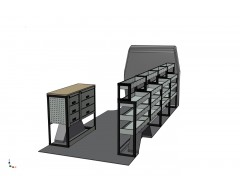 Iveco Daily Van Racking Kit With Bench Top LWB