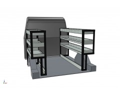 Mercedes Citan 2012 Onwards EXLWB Vantage Systems Van Racking Kit