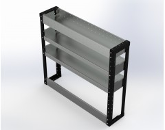 Van Racking 3 Shelf Unit 900mm x 1000mm x 230mm