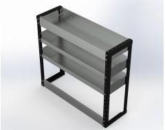 Van Racking 3 Shelf Unit 900mm x 1000mm x 330mm
