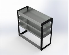Van Racking 3 Shelf Unit 900mm x 1000mm x 430mm