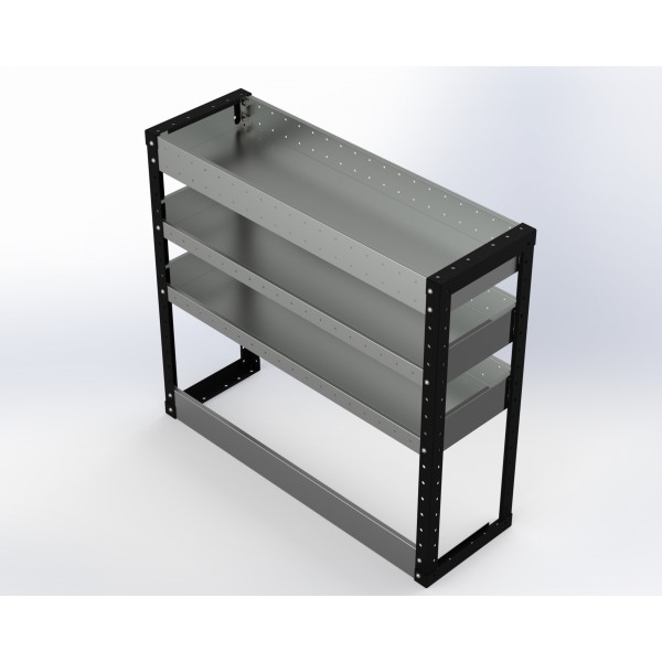 Van Racking 3 Shelf Unit 900mm x 1250mm x 330mm