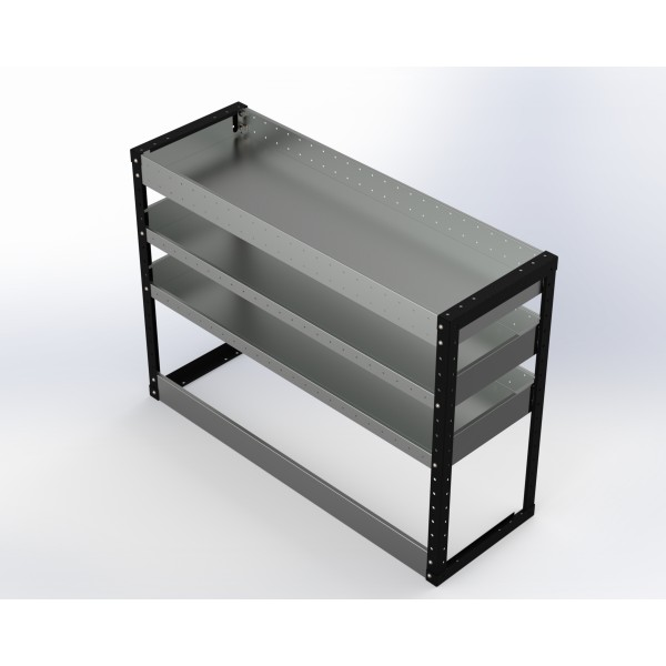 Van Racking 3 Shelf Unit 900mm x 1250mm x 430mm