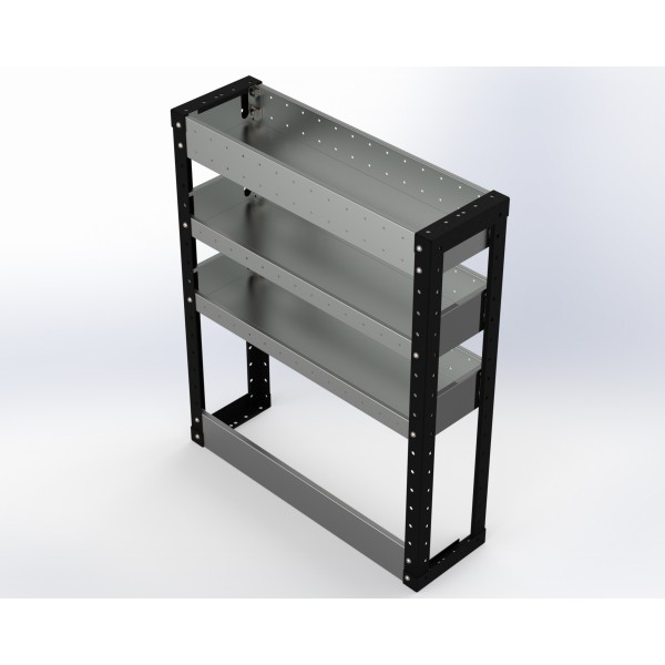 Van Racking 3 Shelf Unit 900mm x 750mm x 230mm