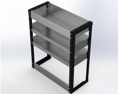 Van Racking 3 Shelf Unit 900mm x 750mm x 330mm