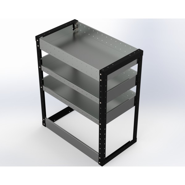 Van Racking 3 Shelf Unit 900mm x 750mm x 430mm