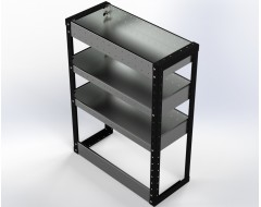 Van Racking 3 Shelf Unit 1000mm x 750mm x 330mm
