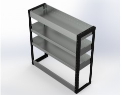 Van Racking 3 Shelf Unit 1000mm x 1000mm x 330mm