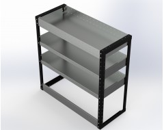 Van Racking 3 Shelf Unit 1000mm x 1000mm x 430mm
