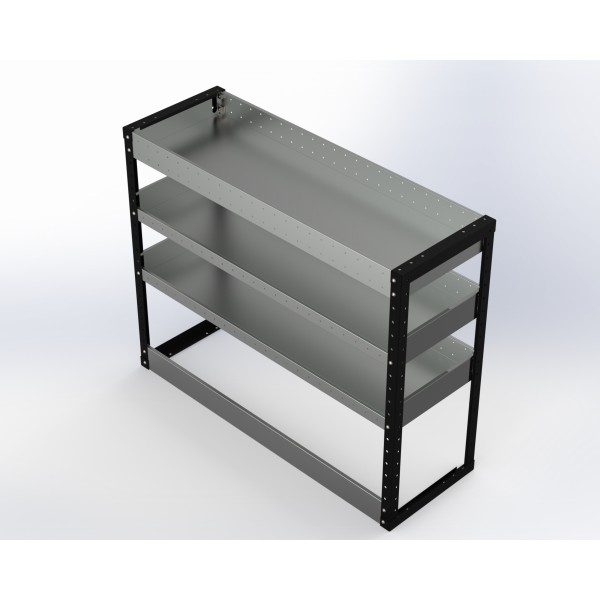 Van Racking 3 Shelf Unit 1000mm x 1250mm x 430mm