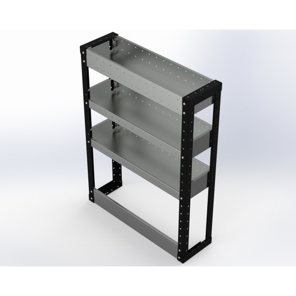 Van Racking 3 Shelf Unit 1000mm x 750mm x 230mm