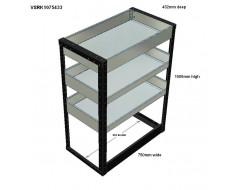 Van Racking 3 Shelf Unit 1000mm x 750mm x 430mm
