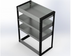 Van Racking 3 Shelf Unit 1000mm x 750mm x 430mm