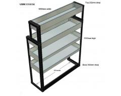 Van Racking 4 Shelf Unit 1300mm x 1000mm x 330mm