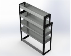Van Racking 4 Shelf Unit 1300mm x 1000mm x 330mm