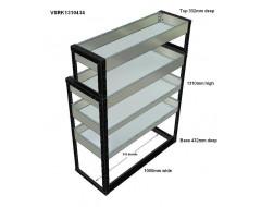 Van Racking 4 Shelf Unit 1300mm x 1000mm x 430mm