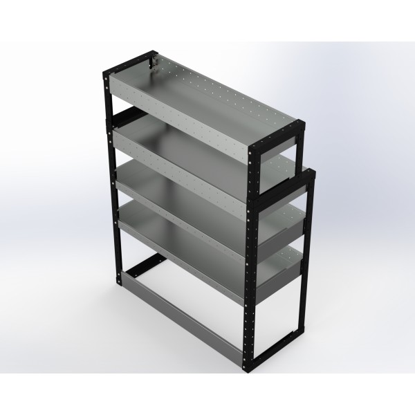 Van Racking 4 Shelf Unit 1300mm x 1000mm x 430mm