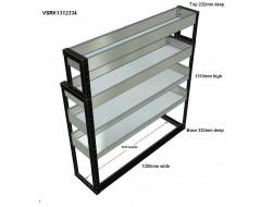 Van Racking 4 Shelf Unit 1300mm x 1250mm x 330mm