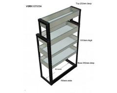 Van Racking 4 Shelf Unit 1300mm x 750mm x 330mm