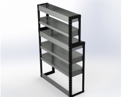 Van Racking 5 Shelf Unit 1500mm x 1000mm x 330mm