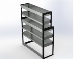 Van Racking 5 Shelf Unit 1500mm x 1250mm x 430mm