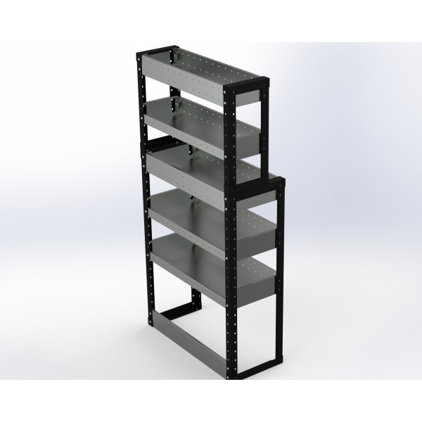 Van Racking 5 Shelf Unit 1500mm x 750mm x 330mm