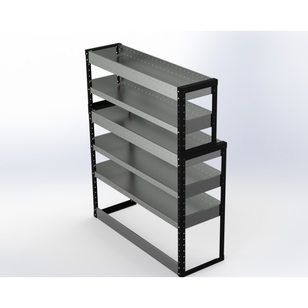 Van Racking 5 Shelf Unit 1500mm x 750mm x 430mm