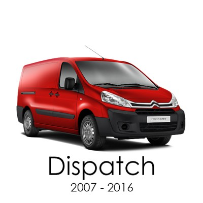 Citroen Dispatch 2007 - 2016 Van Racking Kits