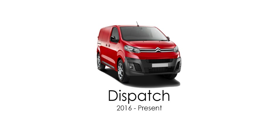 Citroen Dispatch 2016 - Present Van Racking Kits
