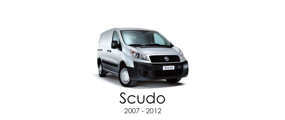Fiat Scudo 2007 - 2012 Van Racking Kits