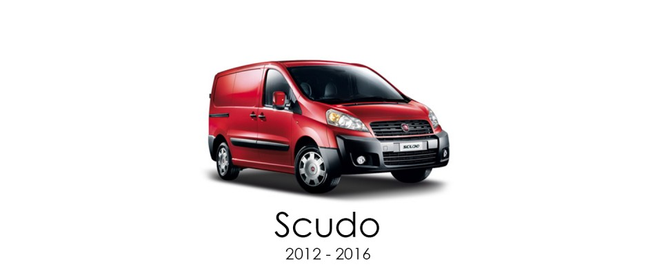 Fiat Scudo 2012 - 2016 Van Racking Kits