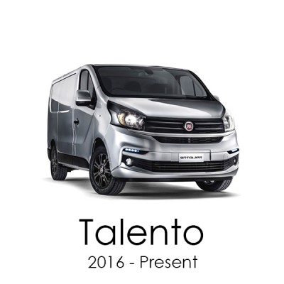 Fiat Talento 2016 - Present Van Racking Kits