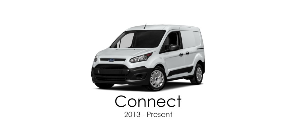 Ford Transit Connect 2013 - Present Van Racking Kits