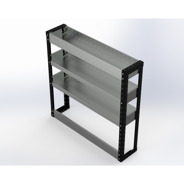 Van Racking 3 Shelf Unit 1000mm x 1000mm x 230mm